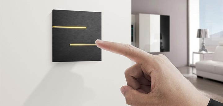 Quad Industries Capacitive light switch