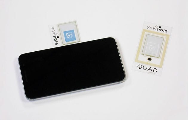 Quad Industries electrochromic printing onto NFC
