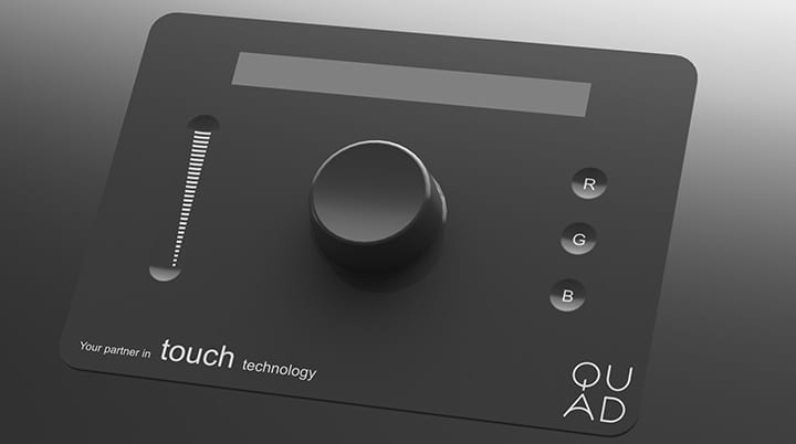 Quad Industries 3D touch wheel