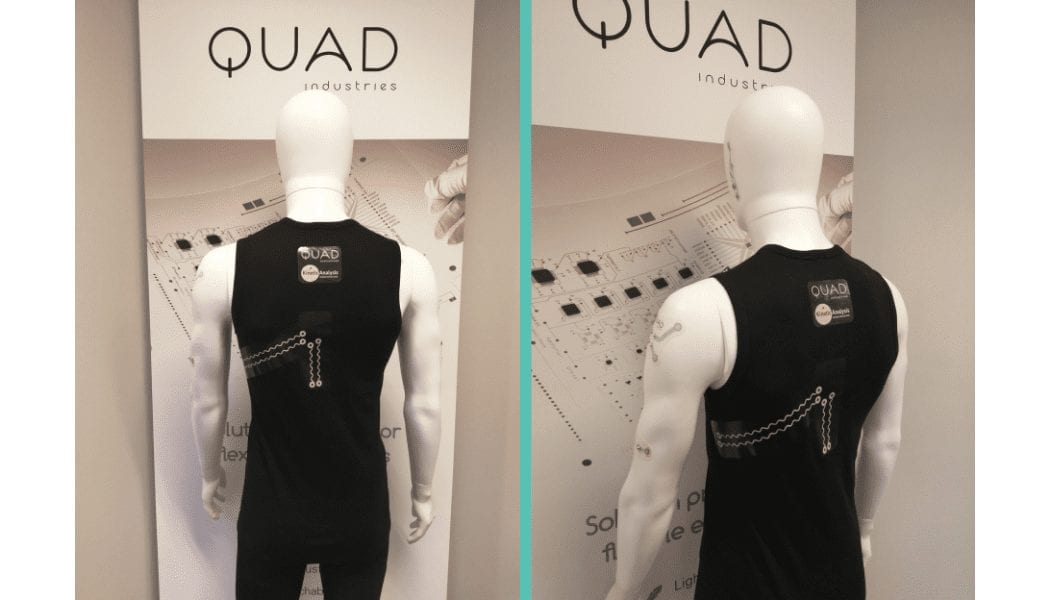Quad Industries x Kinetic Analysis Smart Shirt