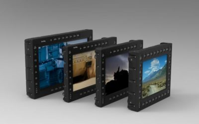 Rugged membrane controls to enhance ScioTeq's TX series displays