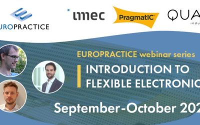 Webinar EUROPRACTICE – Flexible Printed Electronics: a world of opportunities