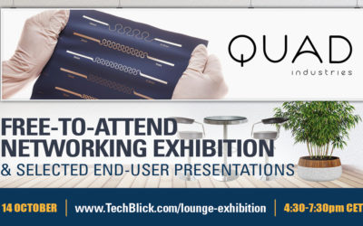 Webinar TechBlick – Printed Electronics as a technology platform enabling wearable health solutions